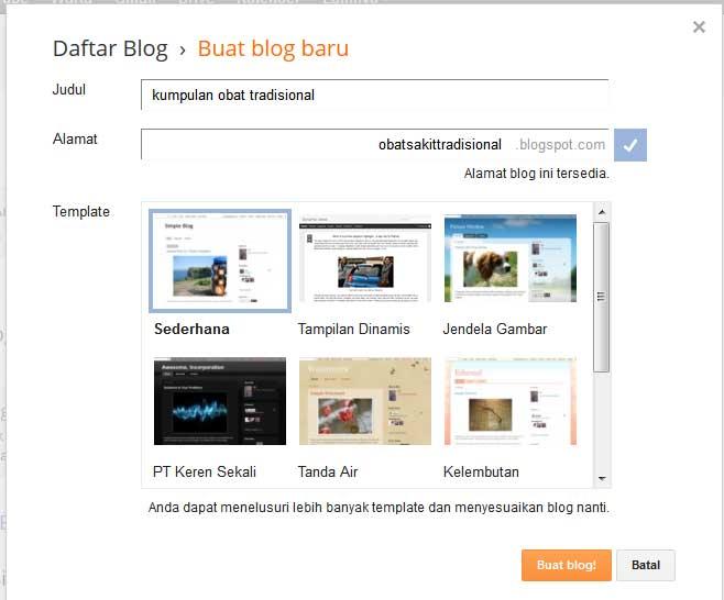 gambar buat blog dan template