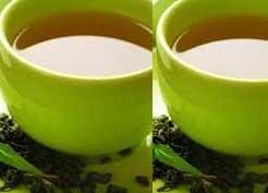 gambar cangkir teh hijau