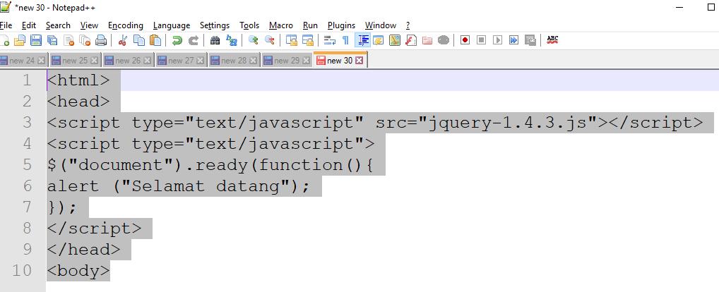 Ajax pdf via