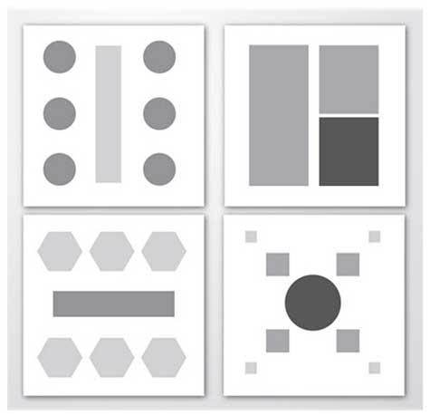 gambar layout simetris