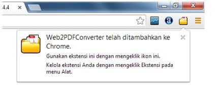 addon web2pdf chrome