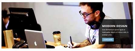 gambar theme wordpress moderna responsive