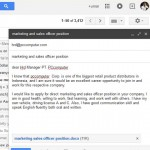 Contoh Lamaran Kerja Bahasa Inggris Via Email