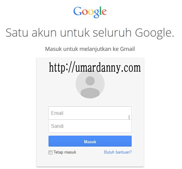 tampilan awal membuka browser di google mail