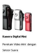 jual kamera digital mini perekam video dengan sensor suara online