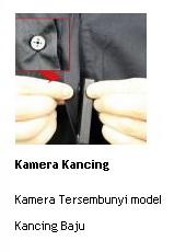 jual kamera kancing tersembunyi model baju online