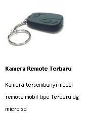 jual kamera remote tersembunyi model remote mobil tipe terbaru dengan micro sd online