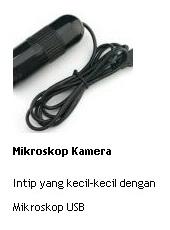 jual mikroskop kamera untuk intip yang kecil-kecil dengan Mikroskop USB online