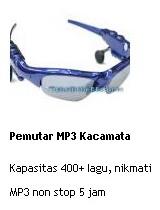 jual pemutar mp3 kacamata online