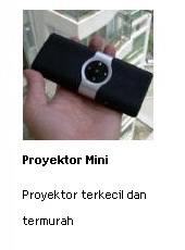 jual proyektor mini terkecil dan termurah online