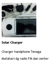 jual solar charger online