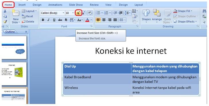 slide powerpoint langkah kelimabelas