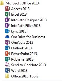 aplikasi perkantoran microsoft office 2013