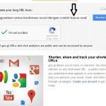 Custom URL Shortener Menggunakan Bitly dan Google (goo.gl)