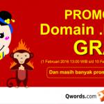 Promo Imlek, Dapatkan Domain Murah dan Gratis dari Qwords