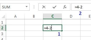 penulisan formula di excel
