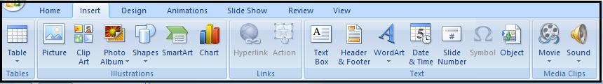 gambar tab ribbon insert
