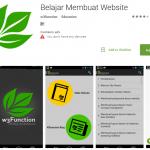aplikasi membuat web